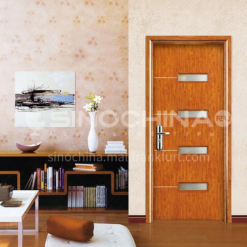 WPC wood plastic door glass style wood plastic door paint free wood plastic door