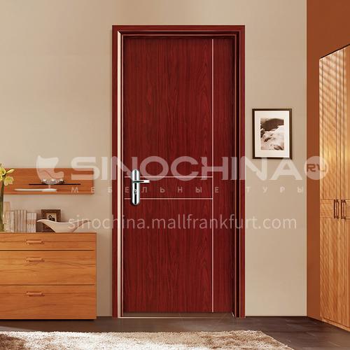 WPC wood plastic door environmental protection paint-free door waterproof, sound insulation, heat insulation, flame retardant, insect-proof wooden door