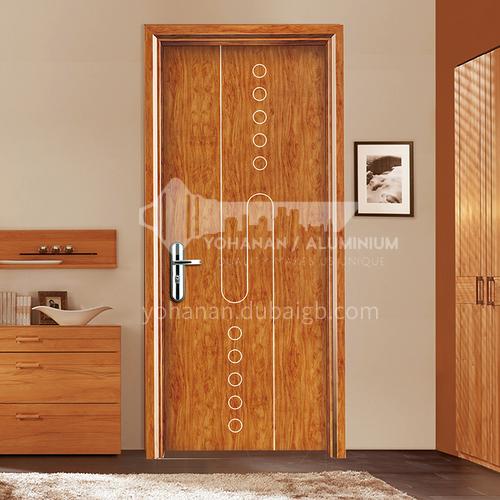 WPC wood plastic door environmental protection paint-free door bathroom door