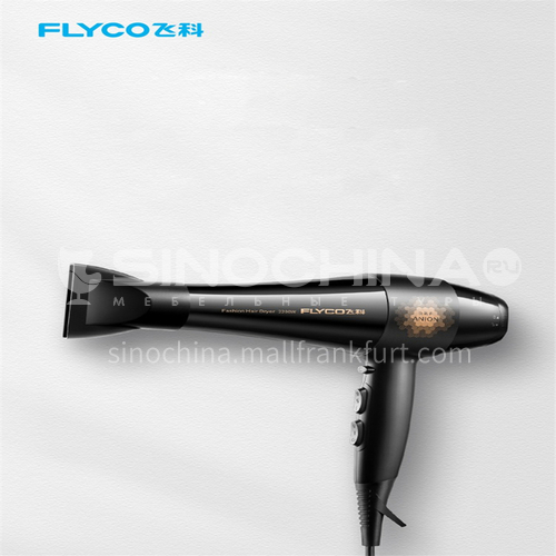 FLYCO 2200W hair dryer men and women home barber shop does not hurt hair negative ion high power hair salon hair dryer DQ000023