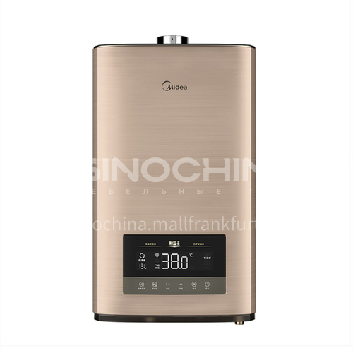 Midea gas water heater household natural gas 16 liters strong exhaust zero cold water DQ009037