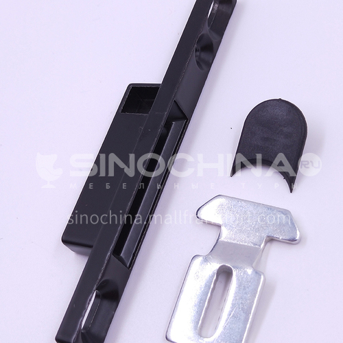 B Aluminum alloy hardware accessories sliding door and window lock A064b