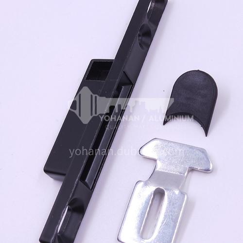 B Aluminum alloy hardware accessories sliding door and window lock A064b