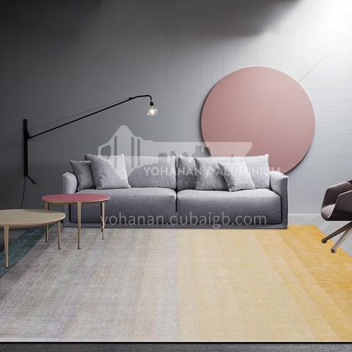 Nordic carpet living room sofa modern minimalist light luxury household carpet bedroom ins wind Nordic carpet thickness 0.8cm HLD-012