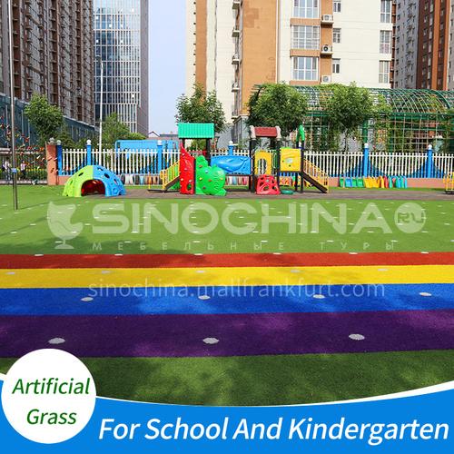 סדרת קשת עץ מלאכותית צבעית לבית הספר וגן ילדים