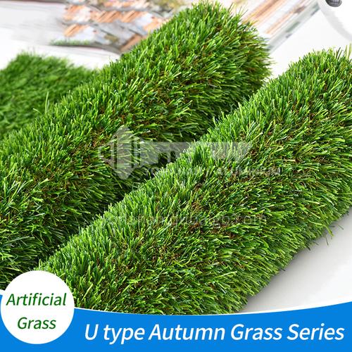 Artificial Grass U type Autumn Grass series