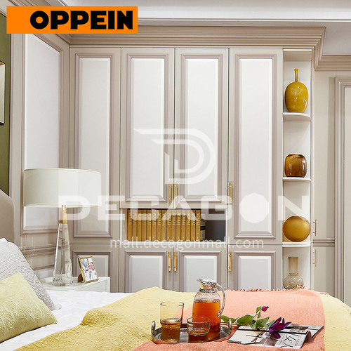 Modern design  UV lacquer with HDF kitchen cabinet-PJYP18012-068