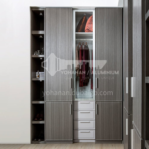 Modern design  UV lacquer with HDF kitchen cabinet-PLYJ17013-055