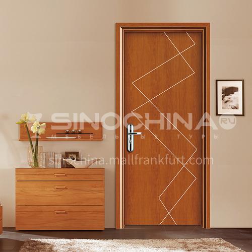 WPC paint-free environmental protection door wood-plastic door simple style