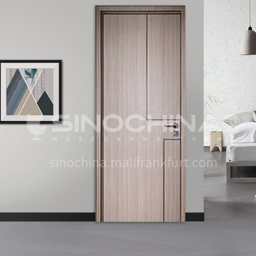 Modern style ecological wear-resistant plate aluminum wooden door-Limpala