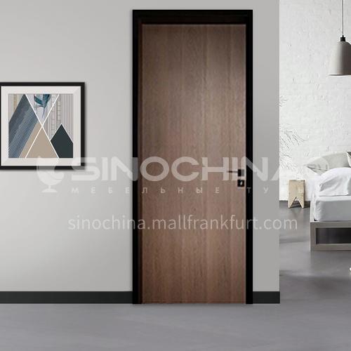Modern style ecological wear-resistant aluminum wooden door