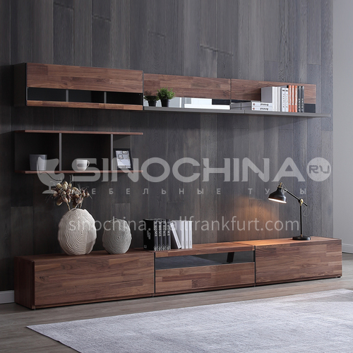 American modern style TV cabinet  PVC with HDF GF-029