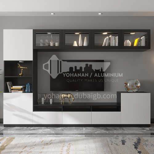Custom cabinets modern style Melamine with particle board-GF-082