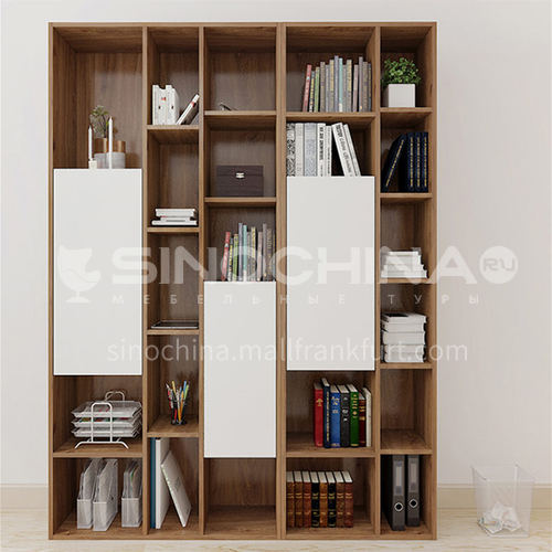 Custom cabinet modern style double facing particle board-GF-084