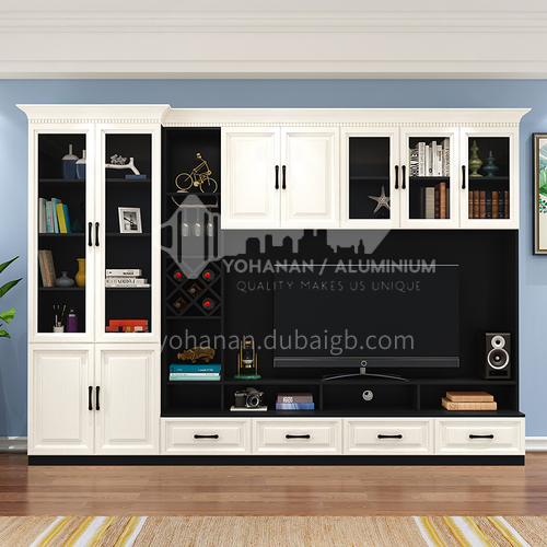 Classical style PVC with HDF Custom cabinets GF-089