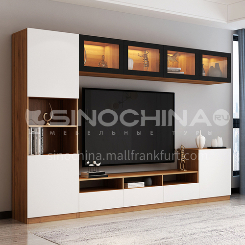 Modern style melamine with particle board custom cabinet GF-090