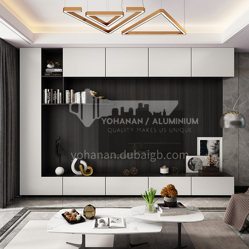 Custom cabinets modern style Melamine with particle board -GF-102