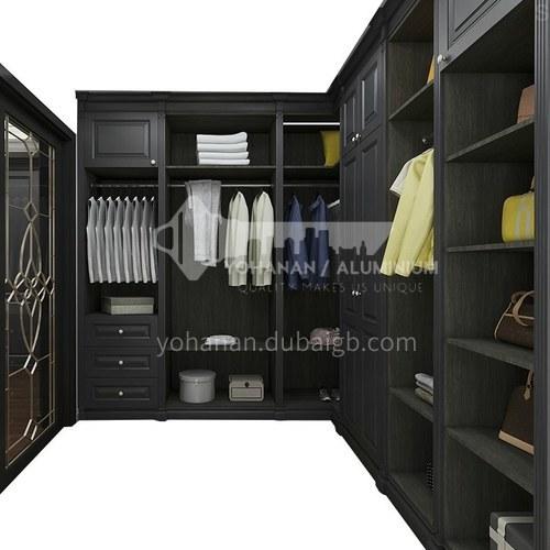 European style wardrobe classical PVC WITH HDF wardrobe-GW-139