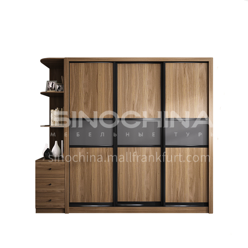 Modern Wardrobe  melamine with particle board Wardrobe-GW-120