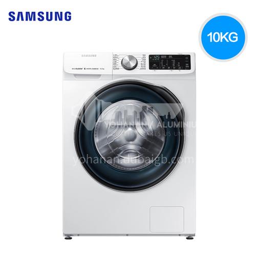 Samsung/三星  10 kg drum washing machine Super large capacity bubble net steam sterilization intelligent washing and protecting quick washing washing machine DQ000063
