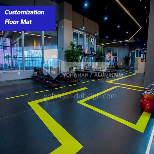 Gym floor mats for personal training, multifunctional sports floor mats, children's physical fitness, children's basketball custom flooring