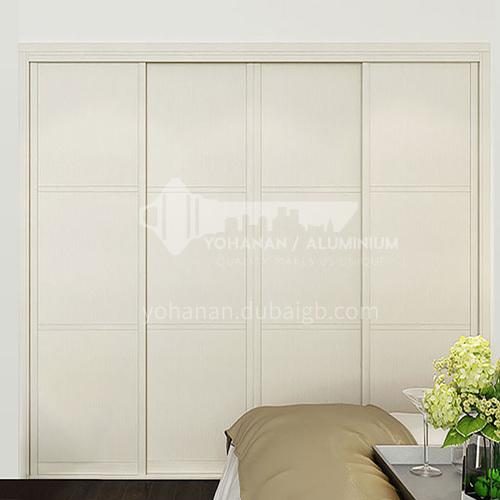 European style wardrobe classical PVC WITH HDF sliding door wardrobe-GW-256