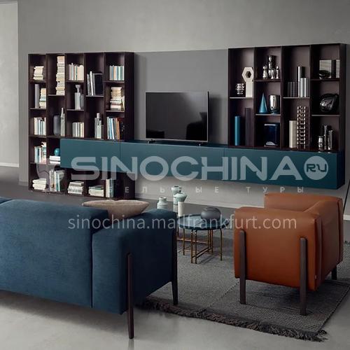 Whole house custom modern office cabinet UV high density board baking varnish-GF-008