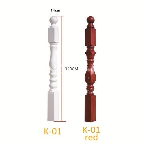 Noble solid wood handrail K-01(big column)