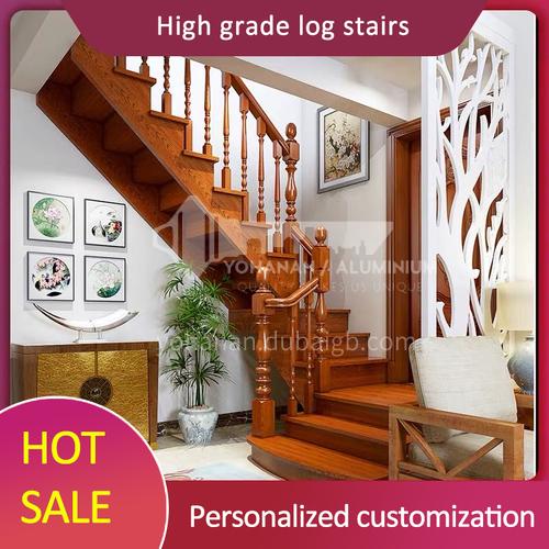 Solid wood handrail FSSM-02
