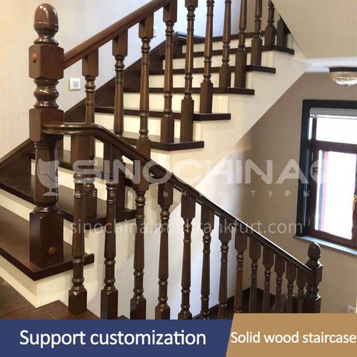 Solid wood handrail FSSM-04