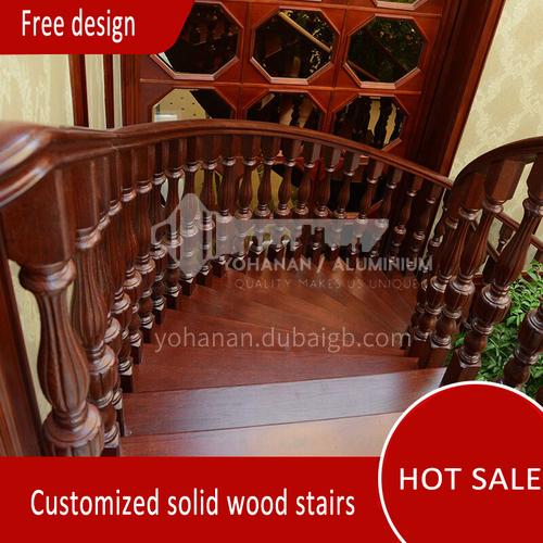 Solid wood handrail FSSM-06