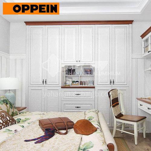 Modern design  Laminate finish wardrobe-PLYP17023-058