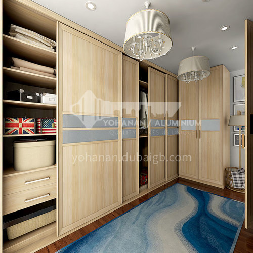 Modern design Laminate finish kitchen cabinets-YG16-M15