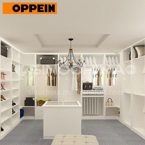 Modern design Laminate finish kitchen cabinets-YG15-M03