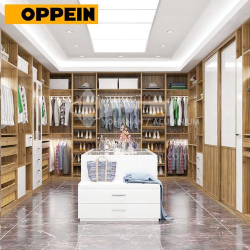 Modern design Laminate finish kitchen cabinets-YG16-M08