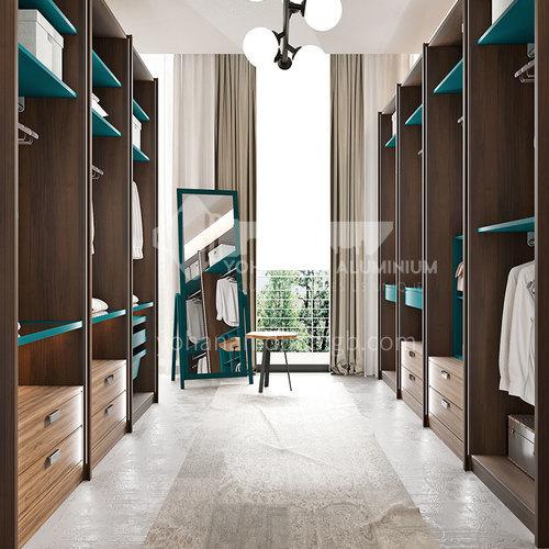 Modern design  UV lacquer with HDF wardrobe-PLYJ17004-056
