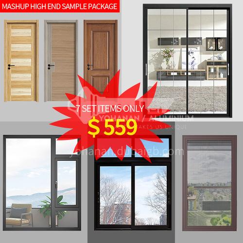7 items Door&Windows mashup high end sample package