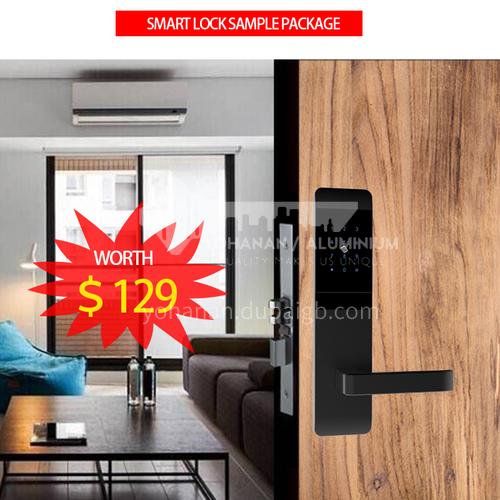 4 Pcs hot sales smart lock entry lock, hotel lock sample package