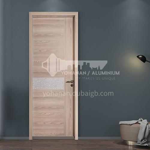 Ecological wear-resistant plate modern light luxury aluminum wooden door