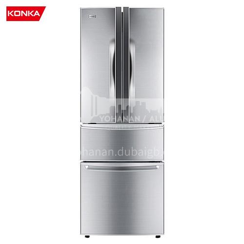 Konka  French multi-door refrigerator household double door refrigerator double door three door four door refrigerator 288 liters DQ009062