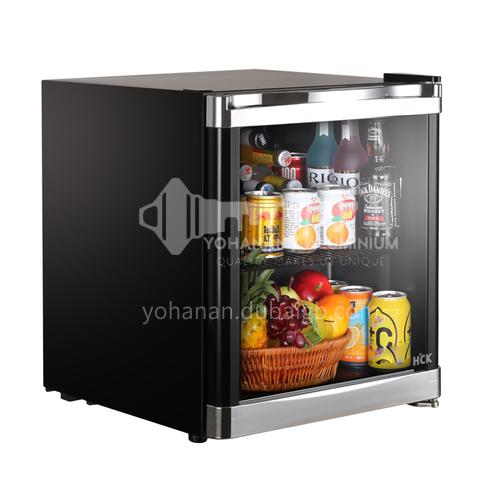 HCK Small refrigerator household refrigerator hotel small refrigerator household dormitory refrigerator 42L DQ000056