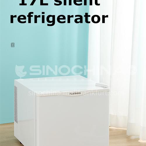 Fuxin Single door small refrigerator home hotel room kindergarten sample freezer silent 17 liters DQ000046