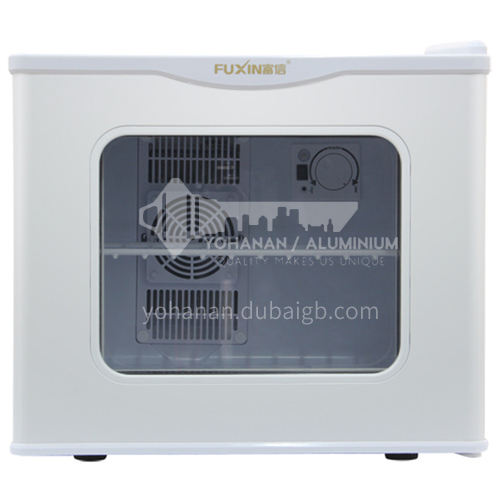 Fuxin refrigerador hotel dormitorio gabinete de muestra de comida pequeño con cerradura refrigerada habitación de invitados hogar 17 litros DQ000047