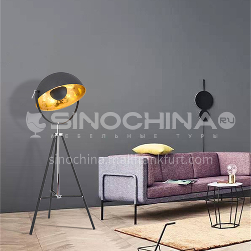 Modern American industrial style Nordic retro villa floor lamp YDH-6009