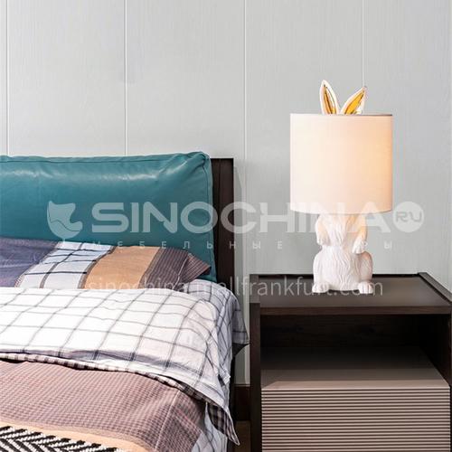 Bedroom bedside table lamp modern minimalist design living room dining room study masked rabbit shape creative table lamp YDH-8030