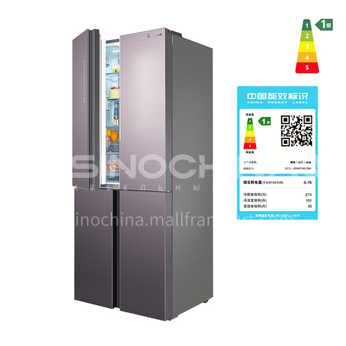 Hisense Cookery 451 refrigerator cross-door refrigerator four-door multi-door frequency conversion  DQ001037