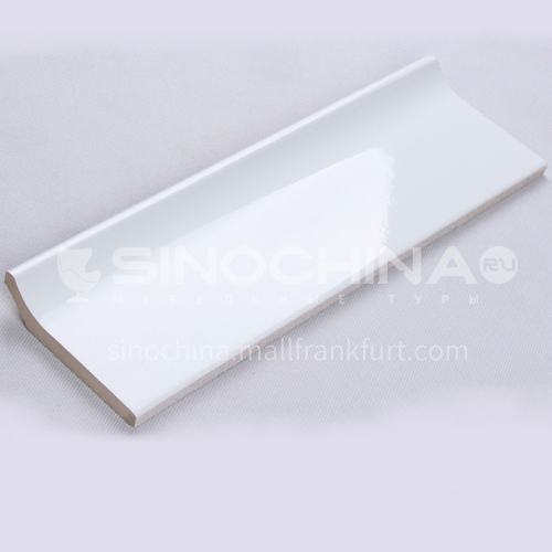 Waist line Yang angle line Ceramic matching corner background wall brick Ohm line layering edge brow line tile buckle corner line-Anchor wire 330mm*100mm