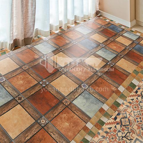 Balcony tiles American courtyard outdoor antique tiles Nordic pastoral style home garden courtyard non-slip floor tiles-SSFYF074 300mm*300mm