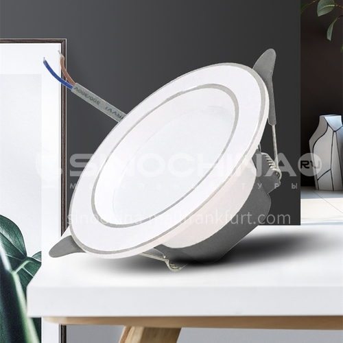 LED project household three-color temperature downlight-ADT03-white