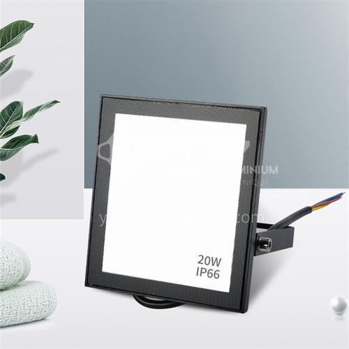 LED outdoor waterproof black aluminum super bright flood light-KLO-F